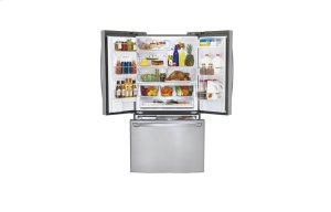 36 Inch, 24.6 cu.ft. Super-Capacity 3-door Counter Depth French Door Refrigerator with Smart Cooling plus technology