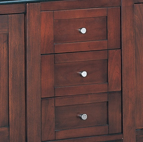 "Shaker 12"" Drawer Bridge - Dark Cherry"
