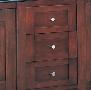 "Shaker 12"" Drawer Bridge - Dark Cherry Product Image"