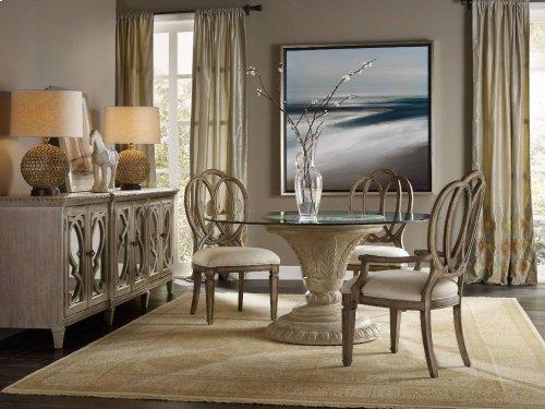 Solana Round Dining Table Base