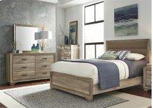 Full Uph Bed, Dresser & Mirror