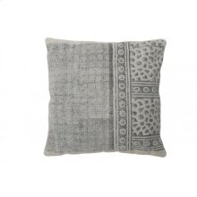 Pillow 50x50 cm DENIZLI with print grey-white