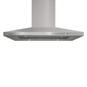 """Wolf42"""" Cooktop Island Hood - Stainless"""