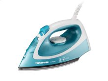 Steam Circulating Iron with Curved, Non-Stick Titanium-Coated Soleplate NI-P300T