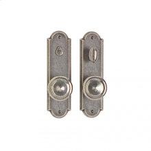 "Arched Privacy Set - 2 1/2"" x 9"" Bronze Dark Lustre"