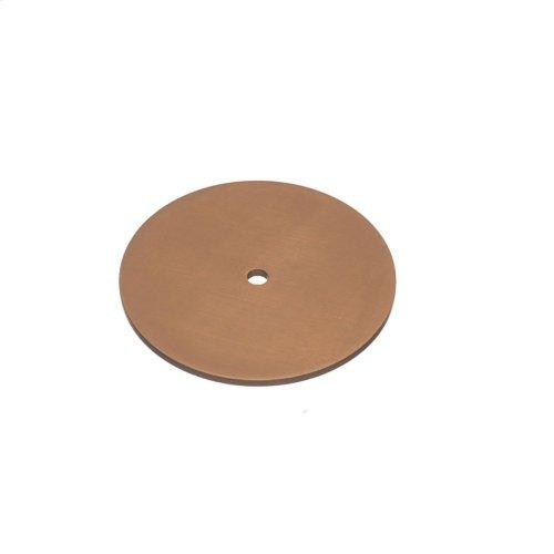 "2 1/2"" diameter Backplate - Matte Light Statuary Bronze"