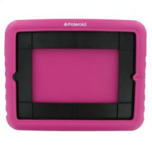 Polaroid Shock Absorbing Kids iPad 2 and iPad 3 Case, Pink - PAC9002PK