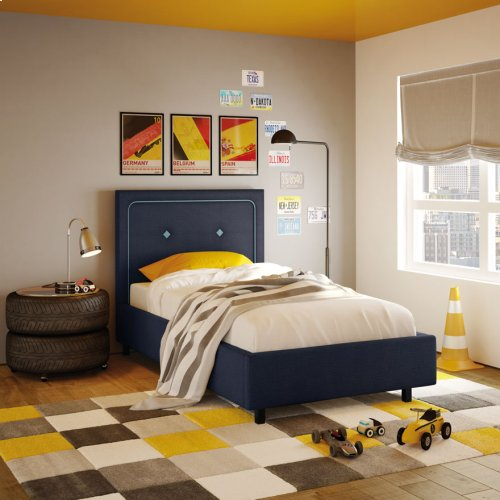 Unison Upholstered Bed - Twin