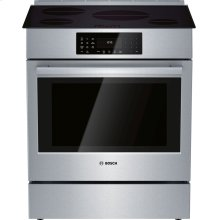 800 Series Induction Slide-in Range 30'' Stainless steel