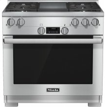 HR 1136-1 G 36 inch range All Gas with DirectSelect, Twin convection fans and M Pro dual stacked burners