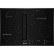 """30"""" JX3™ Electric Downdraft Cooktop with Glass-Touch Electronic Controls, Black"""