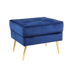 "Double Layer 22"" Stool, Navy, Kd"