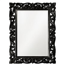 Chateau Mirror - Glossy Black