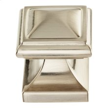 Wadsworth Knob 1 1/4 Inch - Brushed Nickel