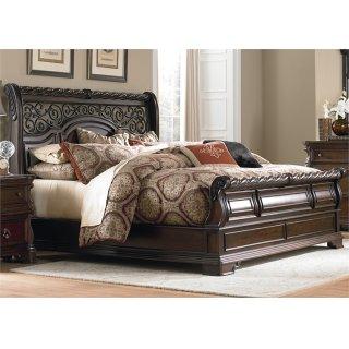 Highlands Sleigh Bed