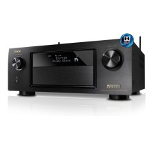 4K Ultra HD 7.2 Channel network AV Receiver with built-in Bluetooth, Wi-Fi, AirPlay, featuring Dolby Atmos