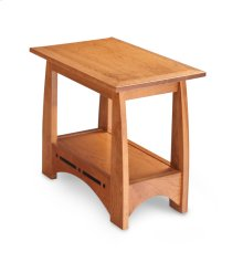 Aspen Chair Side Table with Inlay