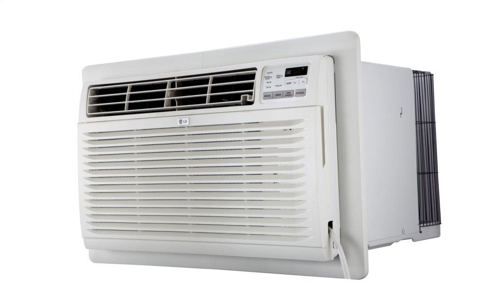 10,000 BTU 230v Through-the-Wall Air Conditioner with Heat  WHITE