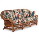 Rattan Sofa Pecan Glaze Satin 4403 Product Image