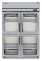Refrigerator, Two Section Upright, Half Glass Door Product Image