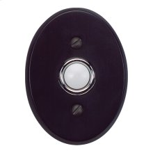 Traditionalist Doorbell - Matte Black