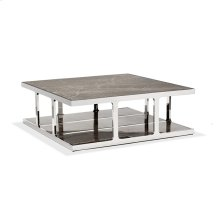 Soto Large Square Cocktail - Marble