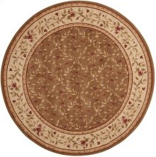 Ashton House As08 Oli Round Rug 5'6'' X 5'6''