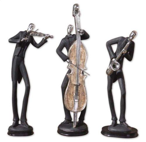 Musicians Figurines, S/3