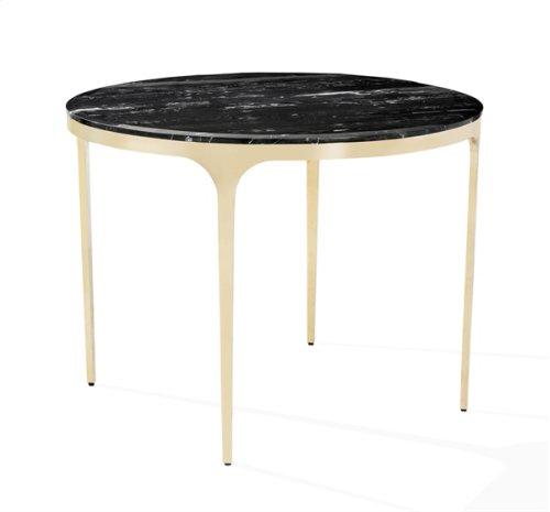 Camilla Center/ Dining Table - Nero Storm