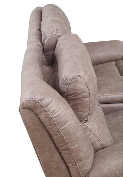 "Aria Pwr-Pwr Recliner Sofa, Desert Sand, 86""x42.5""x42.5"""
