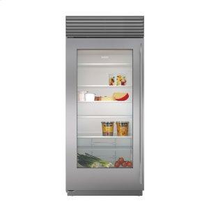 "Subzero36"" Built-In Glass Door Refrigerator"