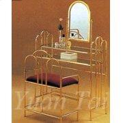 Metal Vanity Set, Brass Finished Product Image