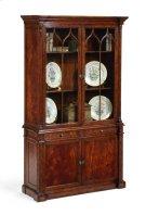 George III Gothic Mahogany Glazed Cabinet Product Image