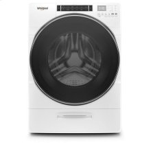 Whirlpool® 5.0 cu. ft. Front Load Washer with Load & Go™ XL Dispenser - White
