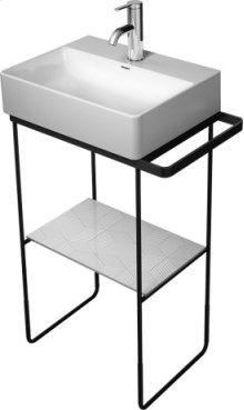 Chrome Durasquare Metal Console Floorstanding