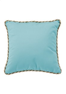 """20"""" Square Throw Pillow w/ Cord Welt"""