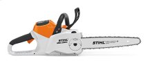 A more powerful, more capable Lithium-Ion chainsaw - ideal for noise restricted areas.