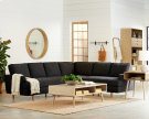 MCM Sectional Sofa with Era Tables Product Image