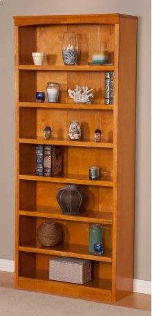 Harvard 84in Book Shelf in Caramel Latte