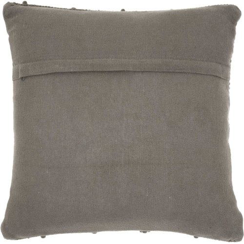 "Life Styles Dc173 Charcoal 20"" X 20"" Throw Pillows"