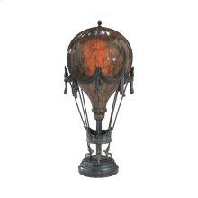 PENSHELL CRACKLE BALLOON LAMP
