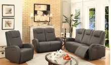 Easy Living Swiss 3 Piece Power Reclining Living Room Set with USB