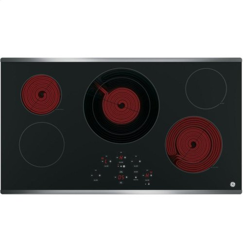 "GE® 36"" Built-In Touch Control Electric Cooktop"