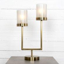 Antique Brass Finish Blair Desk Lamp