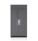 "42"" Classic Side-by-Side Refrigerator/Freezer with Dispenser - Panel Ready Product Image"