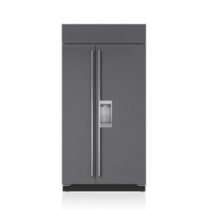 "Subzero42"" Classic Side-by-Side Refrigerator/Freezer with Dispenser - Panel Ready"