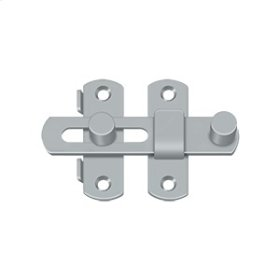 "Drop Latch 3 1/2"" - Brushed Chrome"