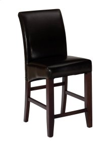 Bonded Leather Stool (rta 2/ctn) Chestnut