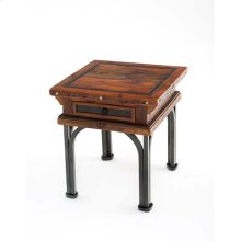 Red River - Tombstone 1 Drawer Side Table