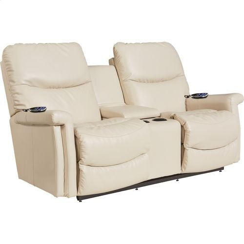 Baylor PowerReclineXRw+ Full Reclining Loveseat w/ Console